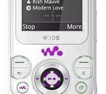 Sony Ericsson W305 Yao. Bonito móvil musical