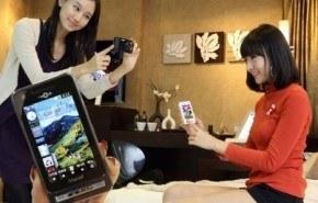 Samsung SPH-W6050, con cámara de 5 megapíxeles