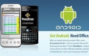Android: Documents To Go llegara a Android en 2009