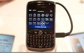 CES 2009: Blackberry Curve 8900 [Video]