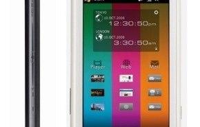 Toshiba TG01, con Windows Mobile 6.1