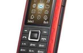Telefono movil Samsung Xplorer B2100, totalmente resistente