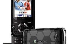 Telefono movil Sony Ericsson F305 FIFA 2009, edición especial