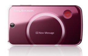 Sony Ericsson T707, con cámara de 3.2 megapíxeles