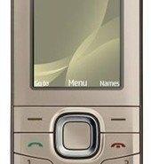 Nokia 6216 classic, con cámara de 2 megapíxeles