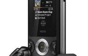 Telefono movil Sony Ericsson W205, con apariencia muy cuidada