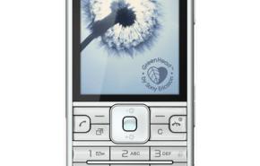 Sony Ericsson C901 GreenHeart, con cámara de 5 megapíxeles