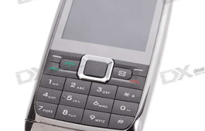 E71i, capaz de trabajar con dos sim card al tiempo