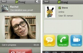 Fring para iPhone e iPod Touch, ahora con llamadas de video
