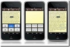 Tiki'Notes, teclado virtual en pantalla