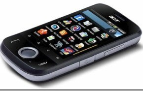 Acer beTouch E110, Android en gama baja