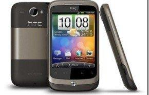 HTC Wildfire, con Android en julio