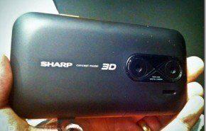 Sharp presenta móvil 3D