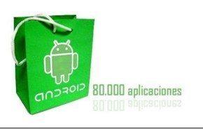 Android Market supera las 80.000 aplicaciones