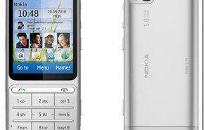 Nokia C3-01 otro móvil presentado en el Nokia World con teclado y pantalla táctil