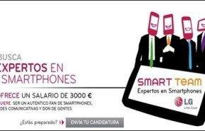 LG busca expertos en Smartphones   Forma parte del Lg Smart Team , últimos días