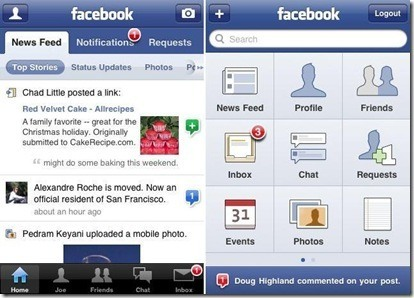 FB iPhone