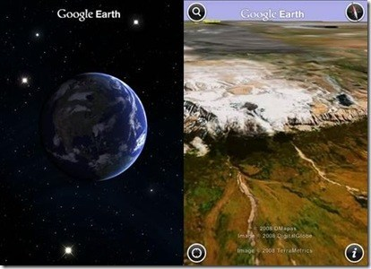 Google Earth iPhone