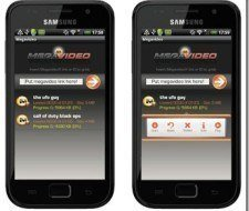 Aplicaciones Android | Megavideo