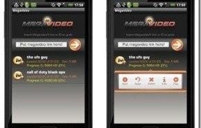 Aplicaciones Android   Megavideo