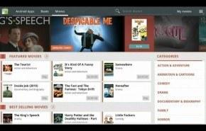 Alquilar películas en el Android Market