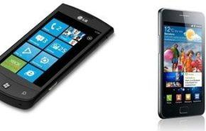 LG Optimus vs Samsung Galaxy