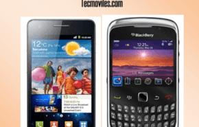Blackberry vs Samsung Galaxy  Comparativa