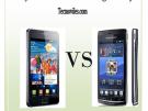 Sony Ericsson Xperia vs Samsung Galaxy| Comparativa