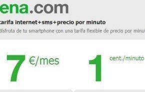 Órdago de Amena: 1 céntimo en llamadas y 1Gb de navegación por 7 euros