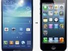 iPhone 5 vs Samsung galaxy s4