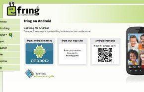 Llamadas gratis con Fring para Android