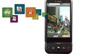 T-Mobile G1, otro móvil que viene con Android