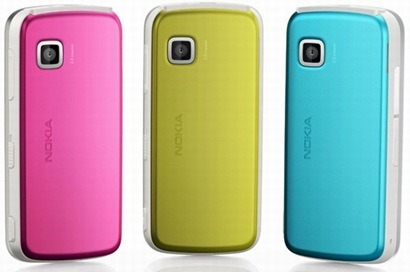 Nokia-5230-pink-yellow-blue