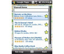 Google Maps para móviles versión 3.3
