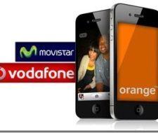 Iphone 4 en Vodafone, Orange y Movistar