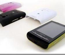 Sony Ericsson tactiles