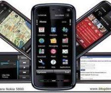 Aplicaciones Nokia 5800