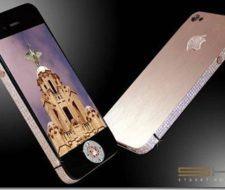iPhone 4 edicion diamante rosa