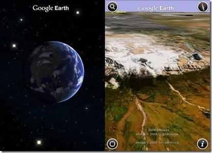 Google Earth iPhone