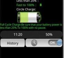 Maximizar bateria de Android con Battery Doctor Andorid app