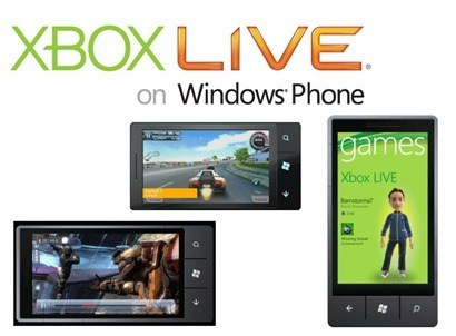 Xbox Live Windows Phone 7