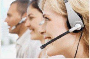 Números de teléfono de atención al cliente - rostro sonriente