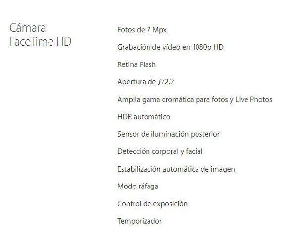 precio-iphone-7s-caracteristicas-camara-frontal