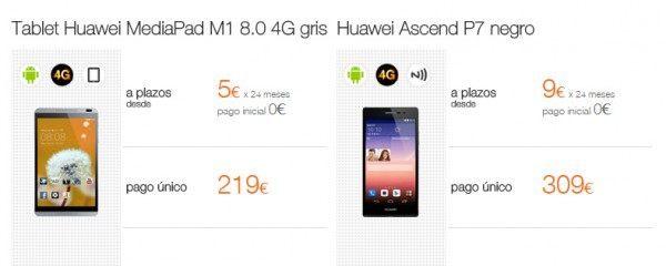 móviles Huawei ascend