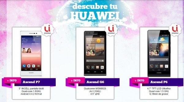 precio móviles huawei