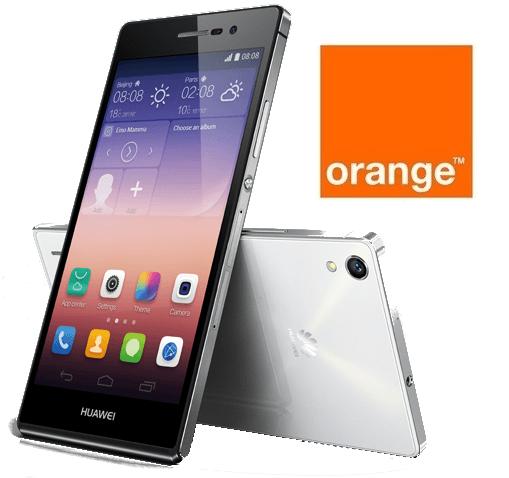 Precios Huawei Ascend P7 con Orange