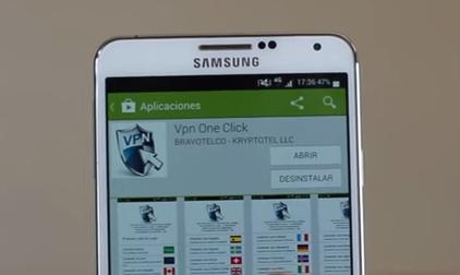 VPN one click google play