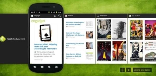 Las 10 mejores aplicaciones de 2014 para iPhone y Android Feedly_Android