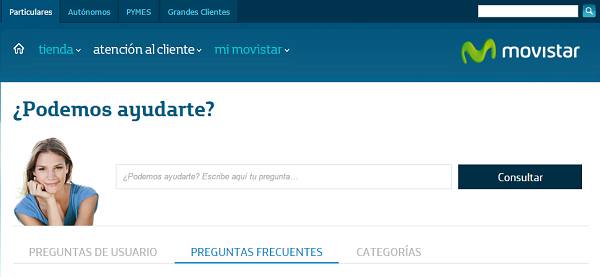 movistar atencion cliente