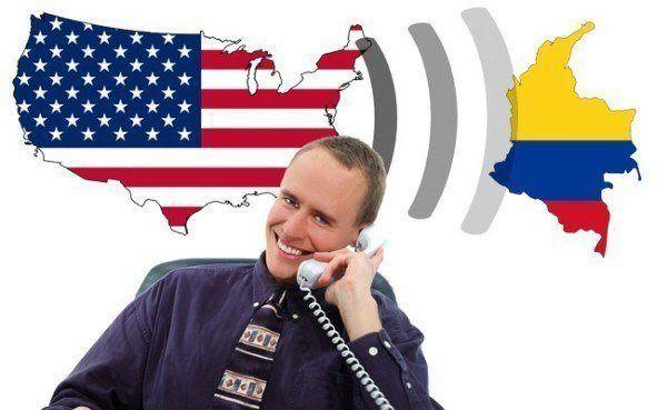 llamar a Colombia desde Estados Unidos